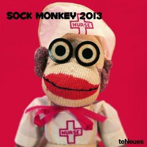 sock monkey calendar