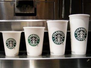 starbucks trenta cup