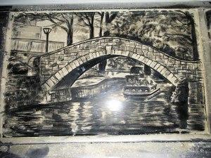 bridge dirt art