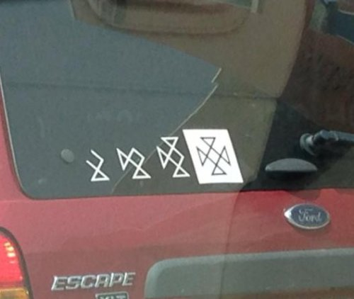 minivan stickers