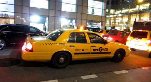 undercover taxi police car