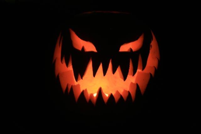 evil pumpkin face template - pumpkin head the sticky egg