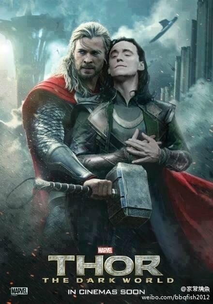 fake thor poster