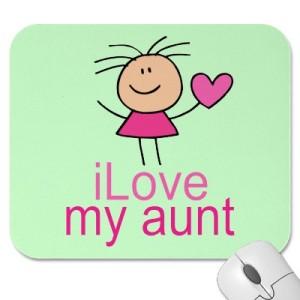 i love my aunt