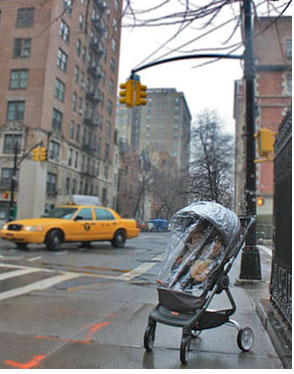 covered stroller