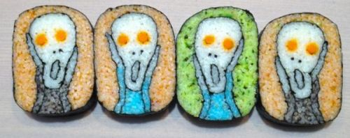 the scream sushi