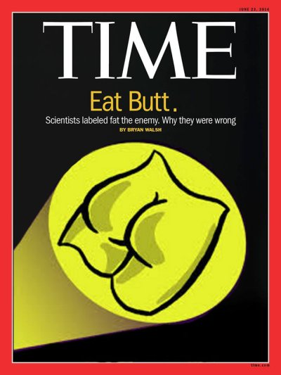 time eat butt