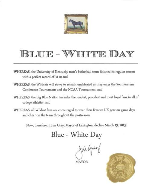 blue white day