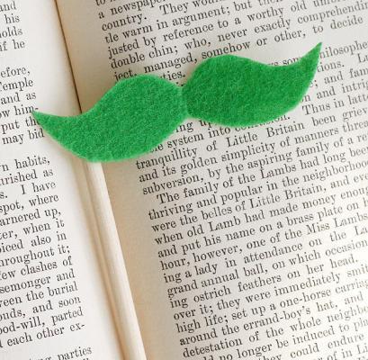 shamrock mustache